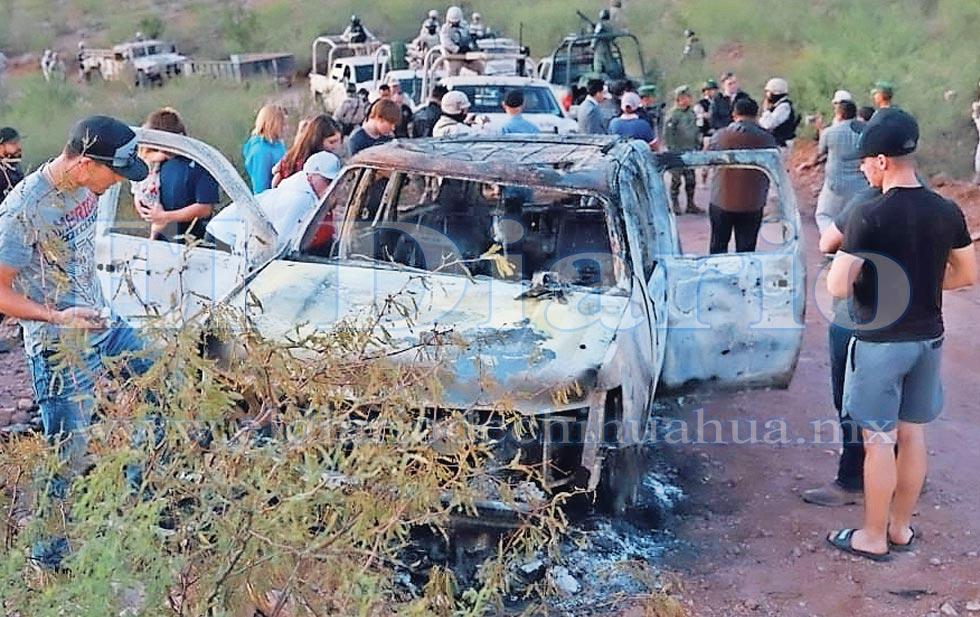 Autores de masacre LeBaron son de Chihuahua'