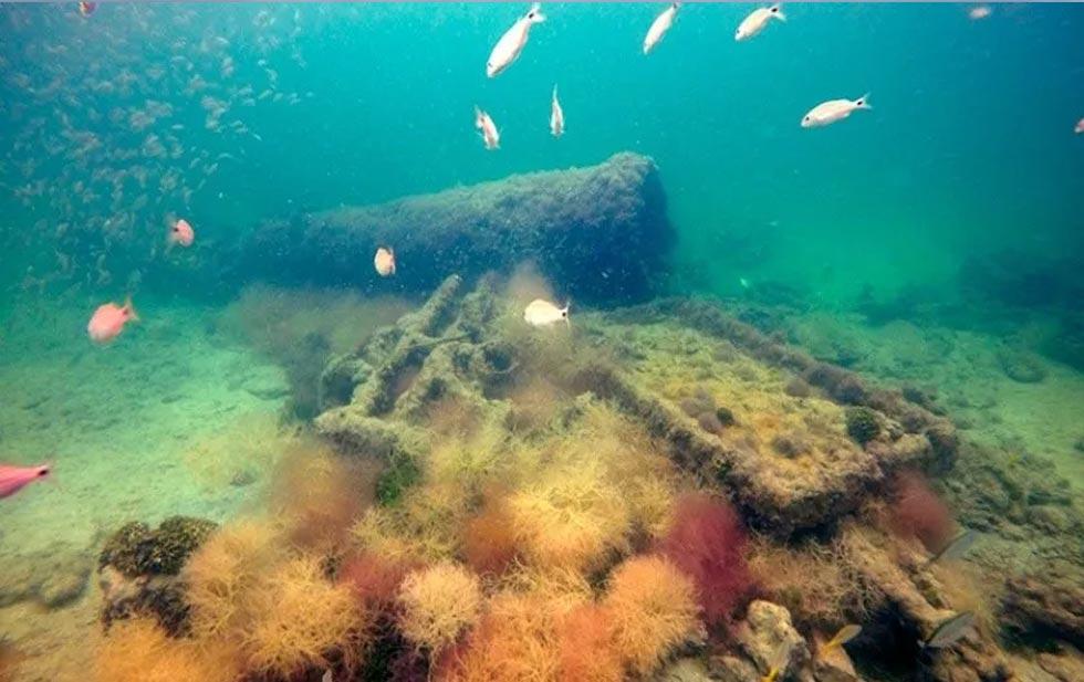 Barco encontrado en Yucatán transportaba esclavos mayas