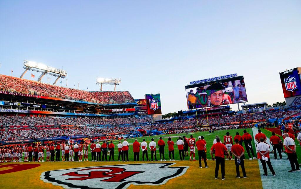 Galería: Inicia el Super Bowl LV